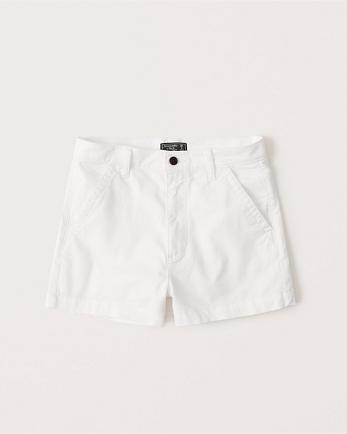 ANFHigh Rise Chino Shorts