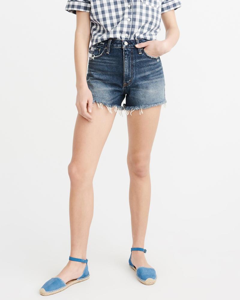 Womens - Shorts denim girlfriend de tiro alto | Womens - Sale ...