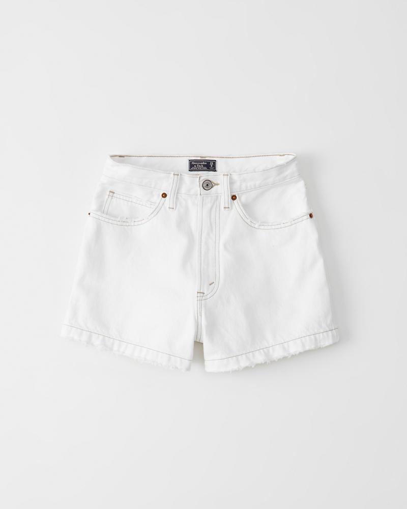 33cc7ffae Womens Ultra High Rise Denim Shorts | Womens Clearance | Abercrombie.com