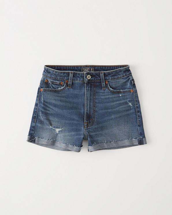 Short Taille En Jean HauteRéductions Femme jRqA4L35