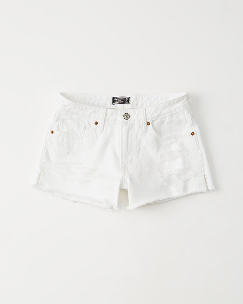 da02331a4d Womens Low Rise Denim Shorts | Womens Clearance | Abercrombie.com
