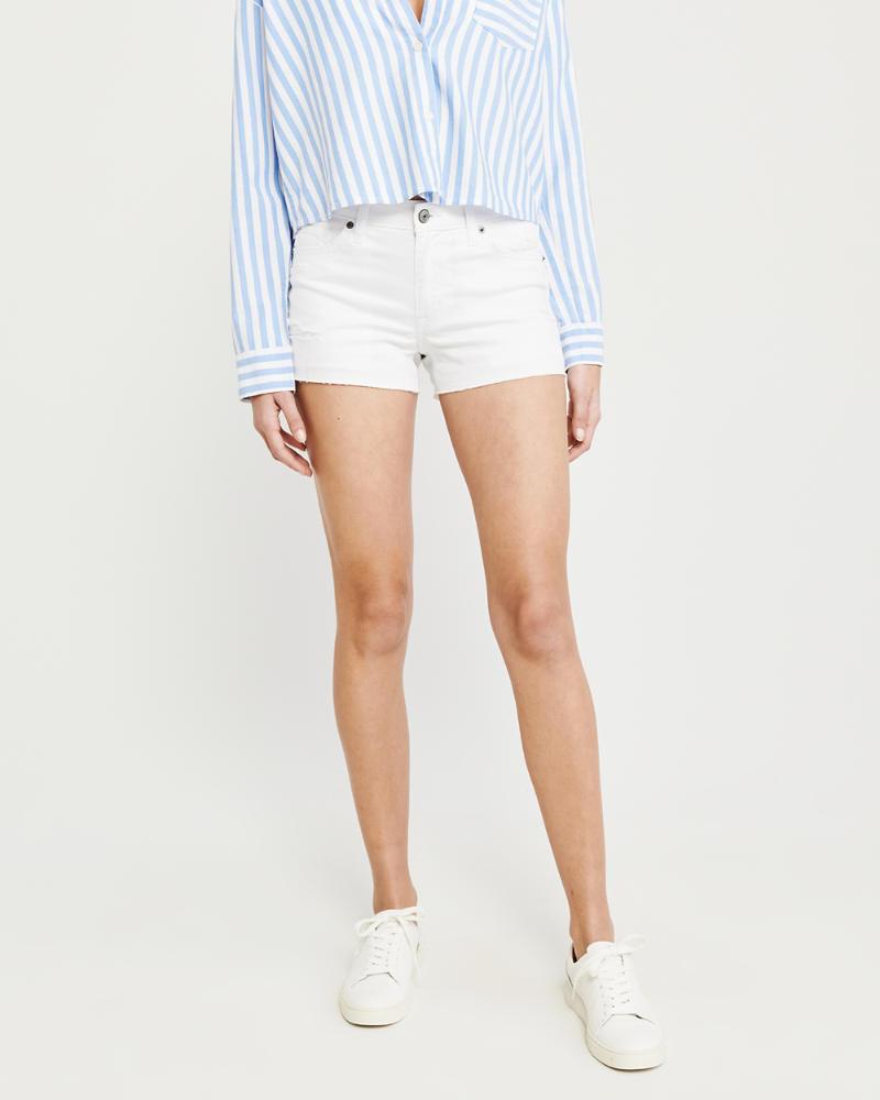 9721de8df0db Womens Low Rise Denim Shorts   Womens Summer Sale   Abercrombie.com