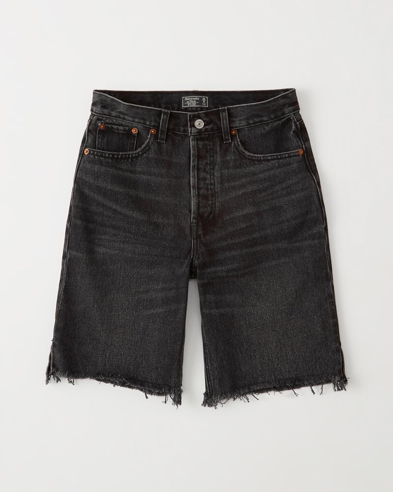 5cfe405900ad Mujer Shorts de denim de tiro alto | Mujer Liquidación | Abercrombie.com
