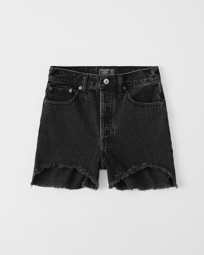 Rise ShortsUnterteile Damen Jeans Mittellange High pqUzGVSM