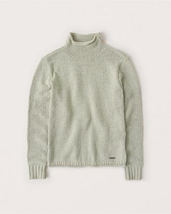 ANFChenille Turtleneck Sweater