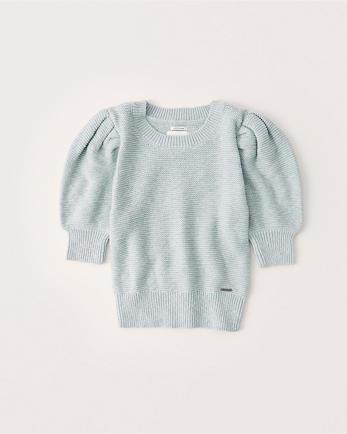 ANFPuff Sleeve Sweater Tee