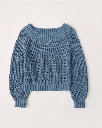 ANFChenille Slouchy Sweater