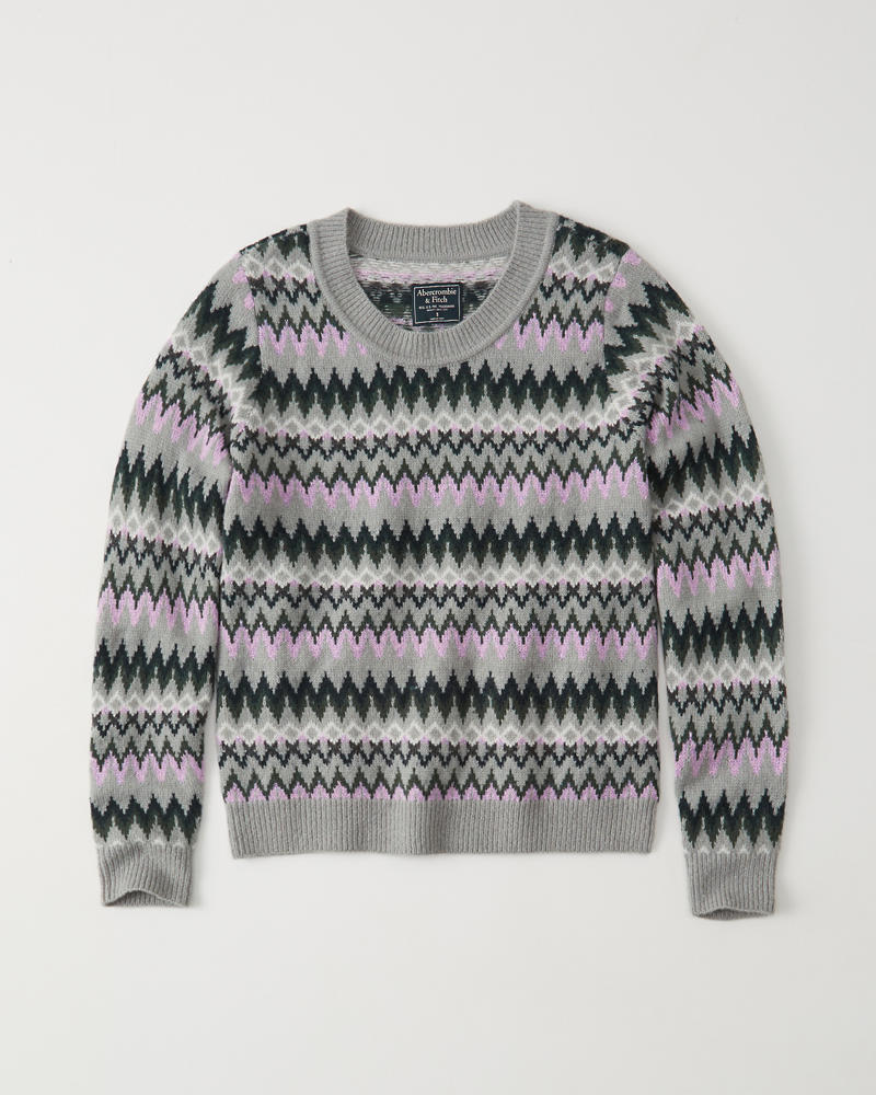 f81b118a76ca Fair isle Crew Sweater