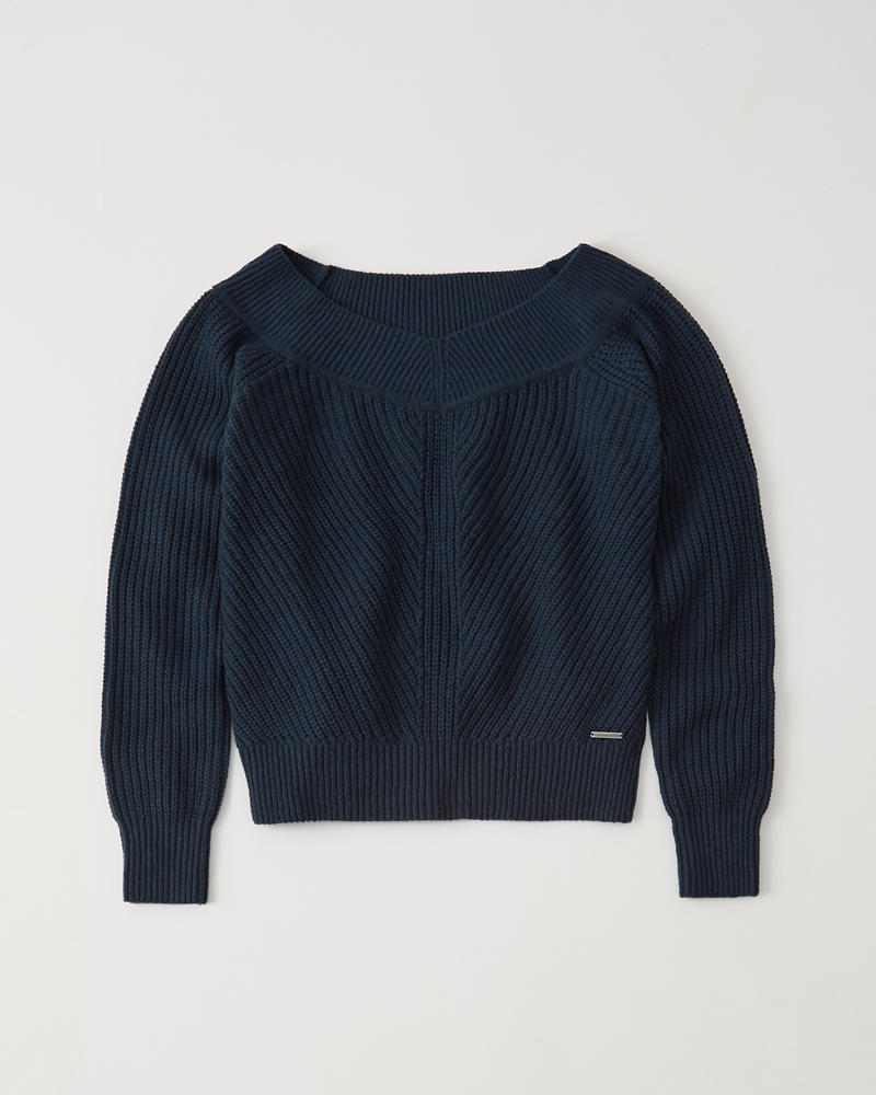 The A&F Off The Shoulder Sweater by Abercrombie & Fitch