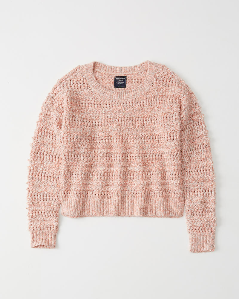 026d1ecb0d Womens Slouchy Boucle Sweater | Womens Sale | Abercrombie.com