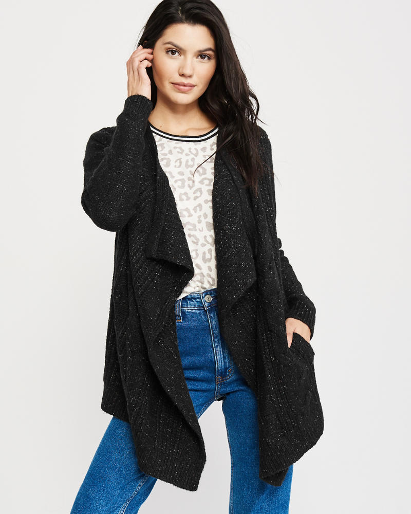 Open Front Blanket Cardigan by Abercrombie & Fitch