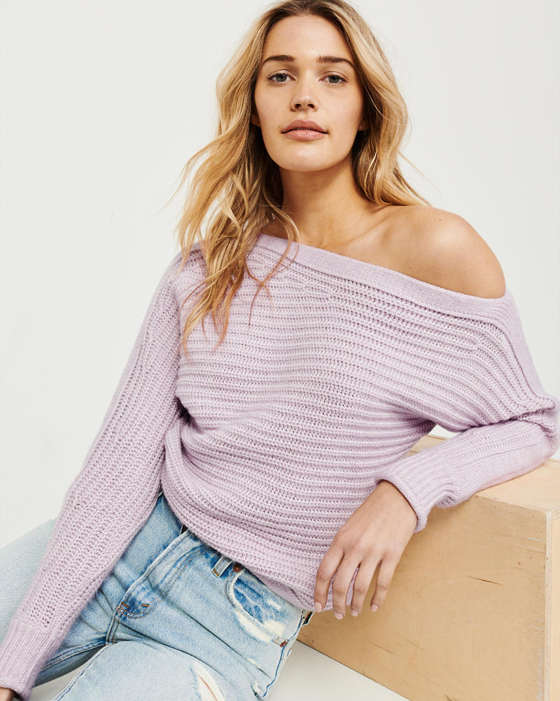 Womens Sweaters V Neck Sweaters Abercrombie Fitch