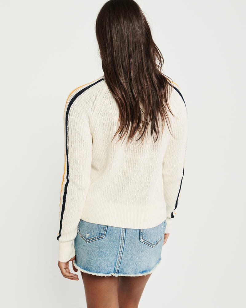 ragazze maglione girocollo corto comodo | ragazze topwear