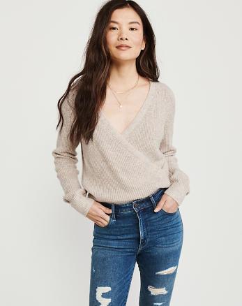 ea15b5cfee9b Womens Sweaters   V-Neck Sweaters