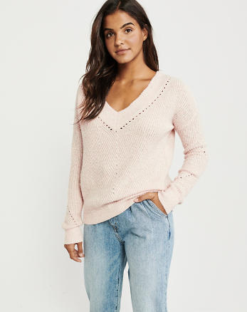ffe41ccca0388 Womens Sweaters   V-Neck Sweaters