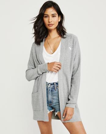 0f0fd8b1e159 Womens Cardigan Sweaters | Abercrombie & Fitch