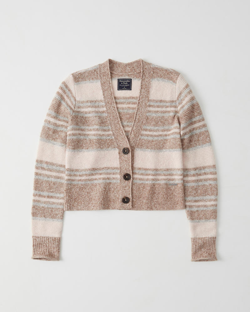 5ceba7d189ec Womens Fuzzy Button-Up Sweater | Womens Clearance | Abercrombie.com