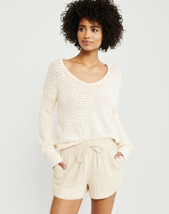 1002bea88573 Womens Sweaters & V-Neck Sweaters | Abercrombie & Fitch