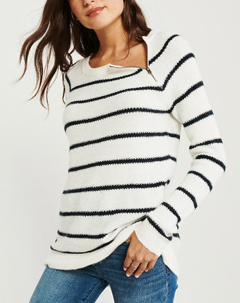 6032a07bec Womens Sweaters & V-Neck Sweaters | Abercrombie & Fitch