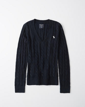 ANFIcon Cable Knit Sweater