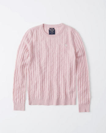 ANFCashmere Cable Crew