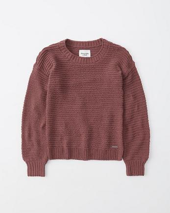ANFChenille Crewneck Sweater