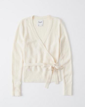 ANFCozy Wrap Sweater