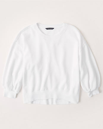 ANFBalloon Sleeve Sweatshirt