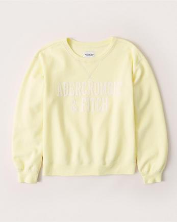 ANFApplique Logo Sweatshirt