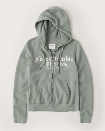 ANFFull-Zip Logo Hoodie