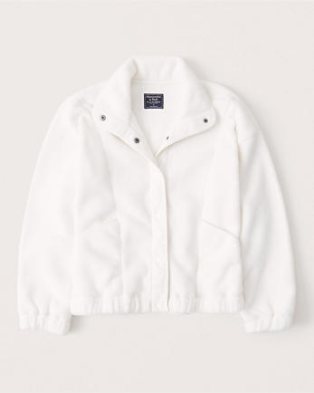 ANFPolar Fleece Snap-Up Jacket