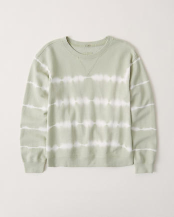 ANFTie-Dye Wash Crew Sweatshirt