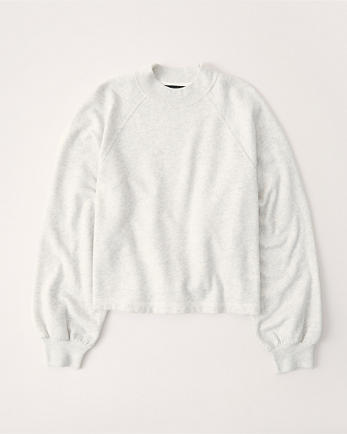 ANFMini Mockneck Sweatshirt