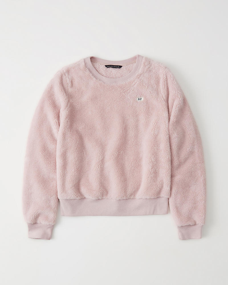 The A&F Sherpa Sweatshirt by Abercrombie & Fitch