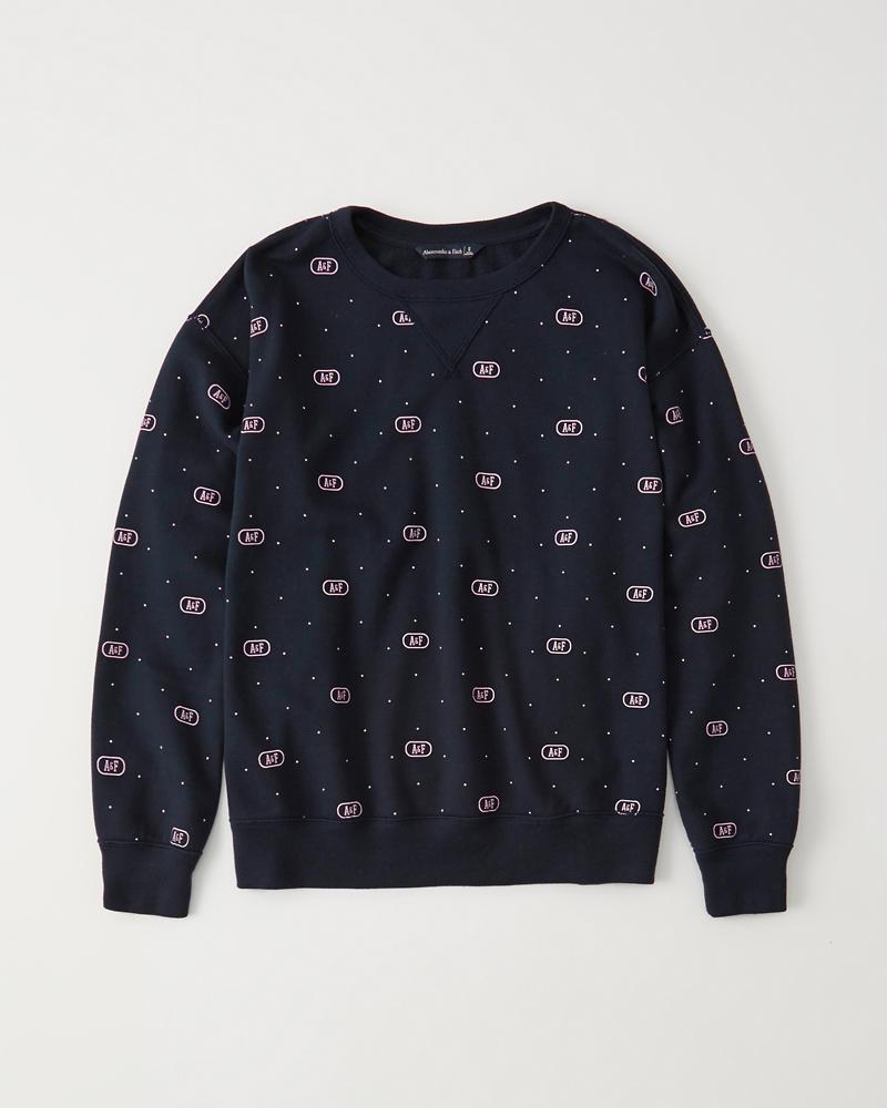 8e305013b0f3 Printed Crewneck Sweatshirt