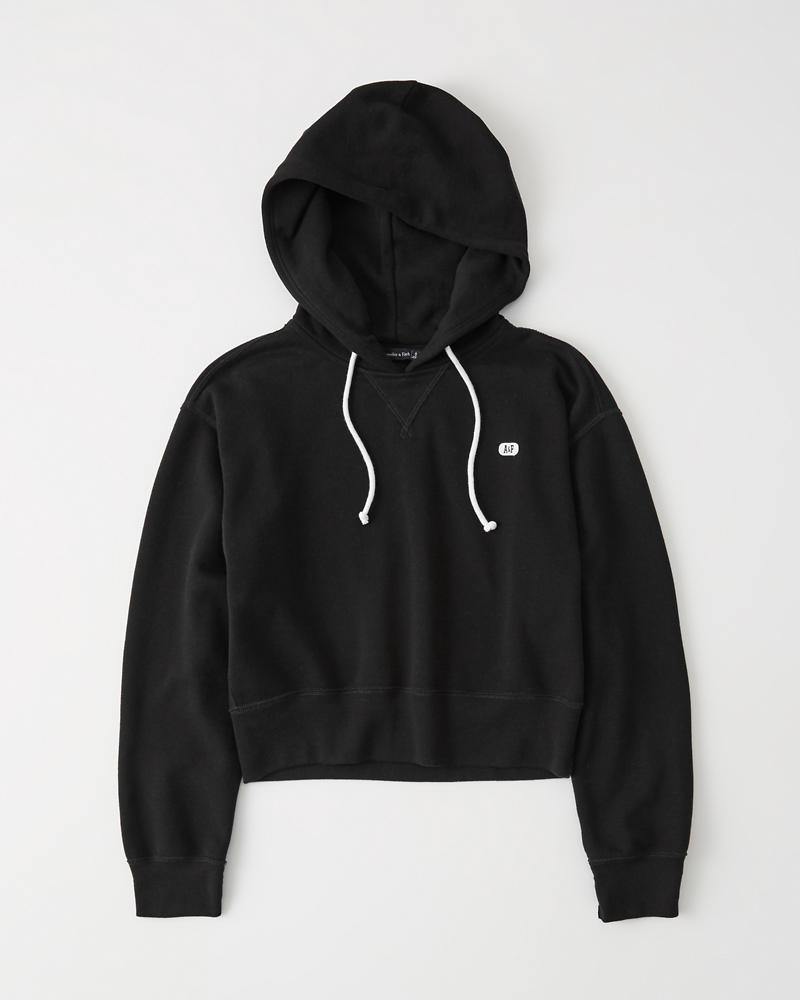 Cropped Hoodie by Abercrombie & Fitch