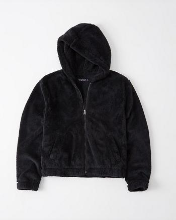 Womens Full Zip Sherpa Fleece Hoodie | Womens Sale