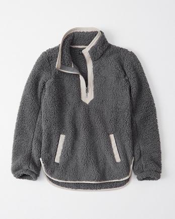 ANFThe Essential A&F Sherpa Fleece