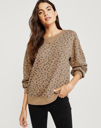 22b96a9667 Womens Hoodies & Womens Sweatshirts | Abercrombie & Fitch