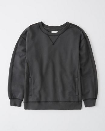 ANFRelaxed Crew Sweatshirt