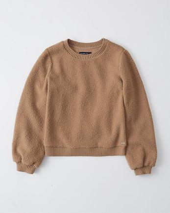 ANFSherpa Crewneck Sweatshirt