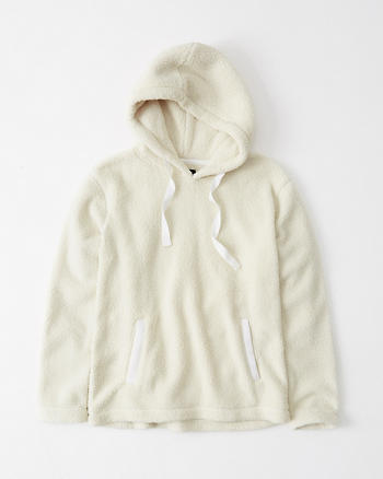 Sherpa Fleece Hoodie by Abercrombie & Fitch