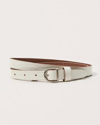 ANFSkinny Leather Belt