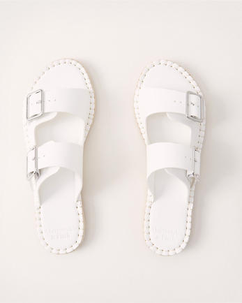 ANFEspadrille Buckle Slides