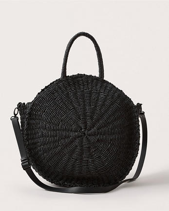 ANFRaffia Circle Bag
