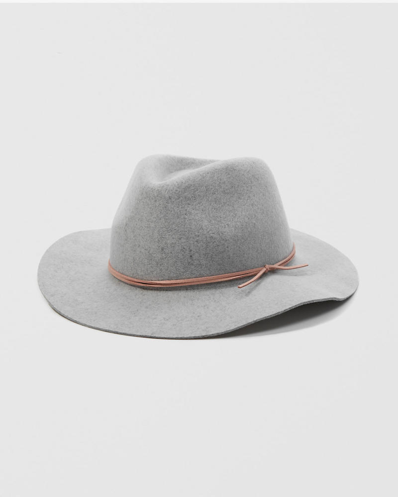 Felt Wide Brim Hat by Abercrombie & Fitch