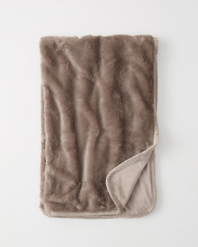 Faux Fur Blanket by Abercrombie & Fitch
