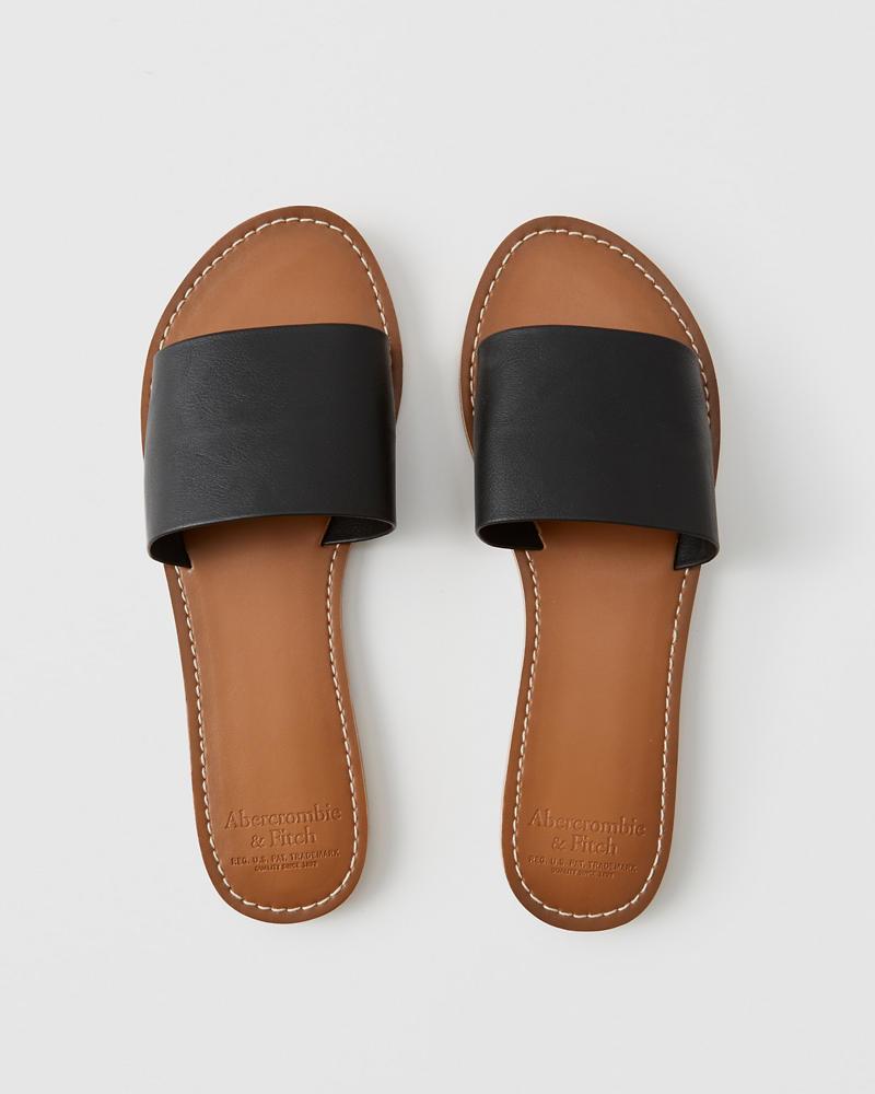 Zapatos Sandalias Cuero Destalonadas De Mujer Sintético 78ZxXqZwn