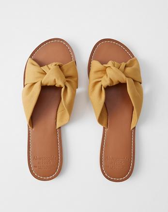 55a8422e0 Knot Slide Sandals