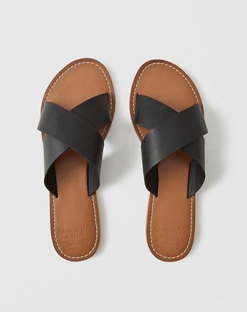 dde4f5507505 Strappy Slide Sandals